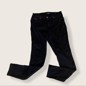Nine West black stretch pants, size 8